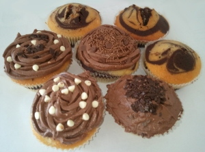 My Chocolate Cup Cakes
