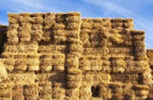Haystack wall