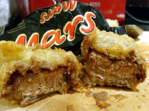 Deep Fried Mars Bar