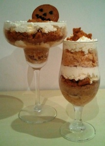 Pumpkin Gingernut Parfait by Sammy Dee Manchester Meanders